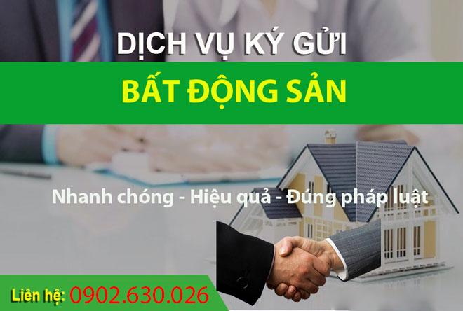 Ký gửi nhà đất uy tín Hồ Chí Minh