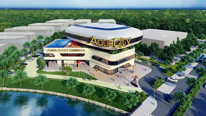 Thư viện hình ảnh dự án Aqua City Nova Land