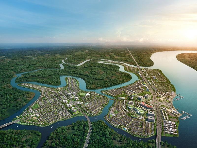 Mặt bằng dự án Aqua City Nova Land
