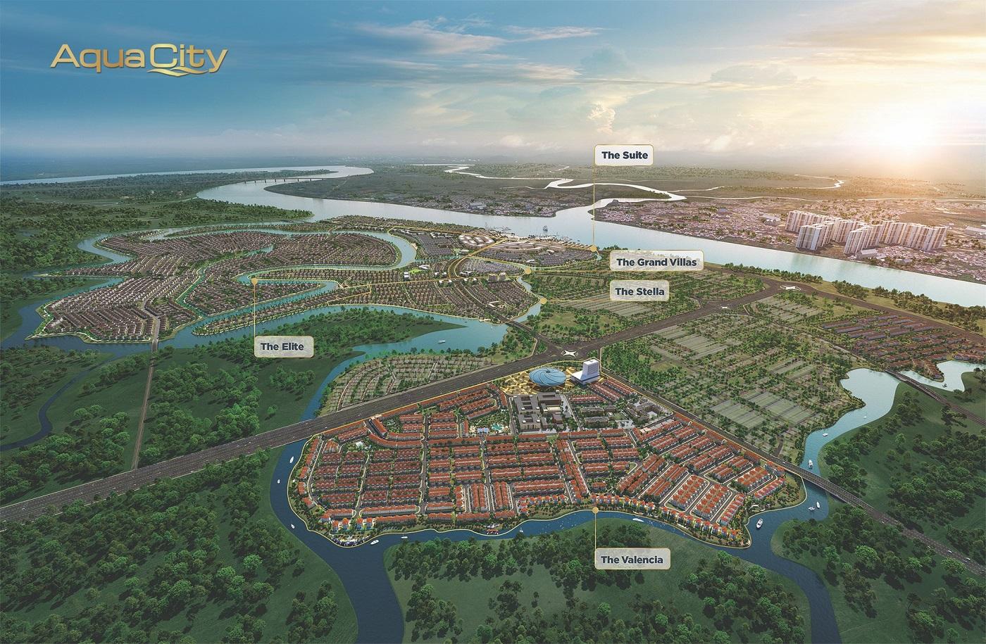 Tổng quan Aqua City