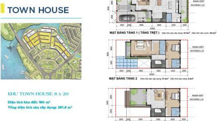 Thiết kế & mặt bằng dự án Aqua City Nova Land