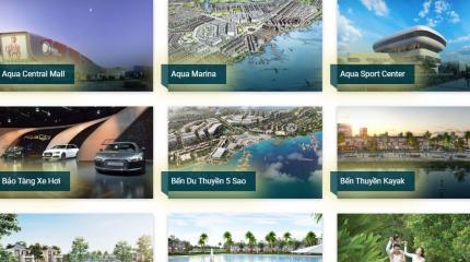 Các tiện ích tại dự án Aqua City Nova Land